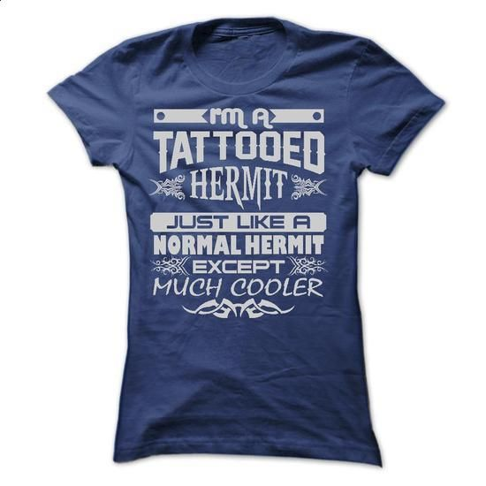 TATTOOED HERMIT - AMAZING T SHIRTS - #sweats #hooded sweatshirt. ORDER NOW =>…