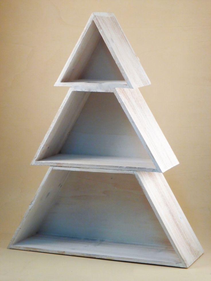 Oltre 1000 immagini su idee creative addobbi albero di - Decorazioni natalizie legno fai da te ...