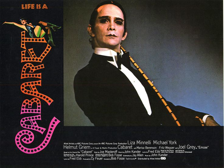 an analysis of bob fosses 1972 satirical film cabaret Lord of the dance when bob fosse, creator of chicago, cabaret and the pajama game, died suddenly in 1987 his career was faltering  fulfilling the prophecy of his 1979 autobiographical film all.