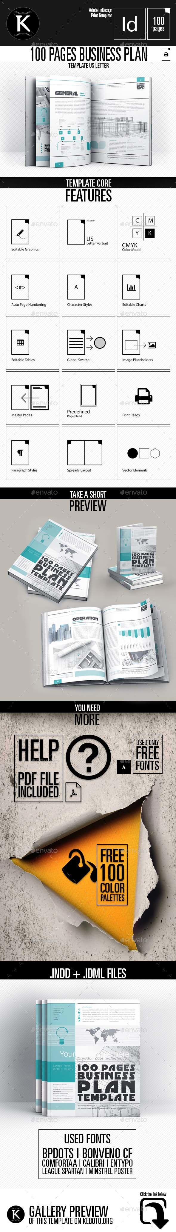 best ideas about business plan presentation 100 pages business plan template letter indesign indd plan presentation available here