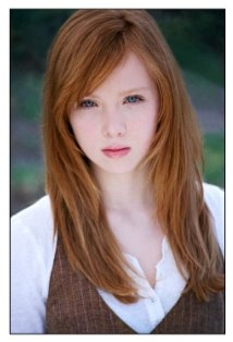 Molly C. Quinn - from the tv show Castle. She is beautiful.