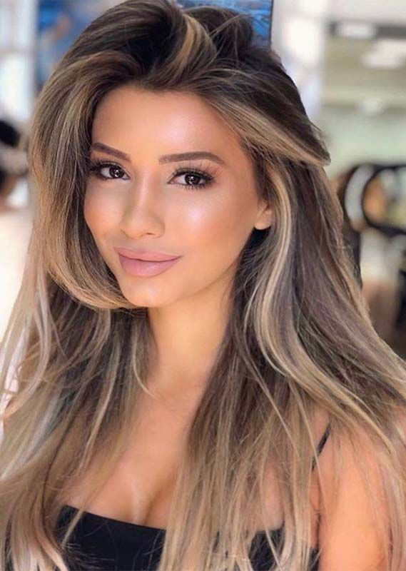 Awesome Blonde Balayage Hair Colors Shades To Wear In 2019 Absurd Styles Hair Color Shades Brunette Hair Color Balayage Hair