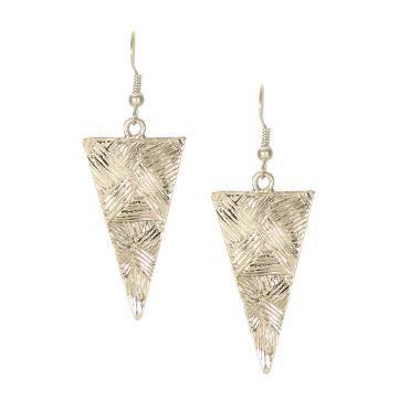 Triângulo brincos No Estilo Retro - US$3.95 -YOINS