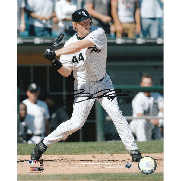 """Brian Anderson Chicago White Sox Fanatics Authentic Autographed 8"""" x 10"""" MLB Swinging Photograph - $29.99"""