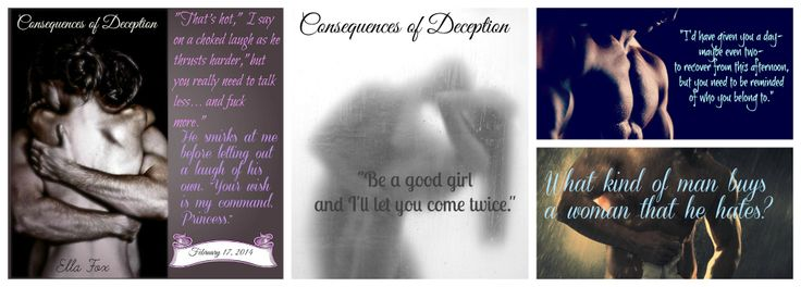 Consequences of Deception is NOW AVAILABLE!!