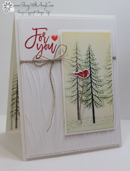 Stampin' Up! Thoughtful Branches for Sunday Stamps
