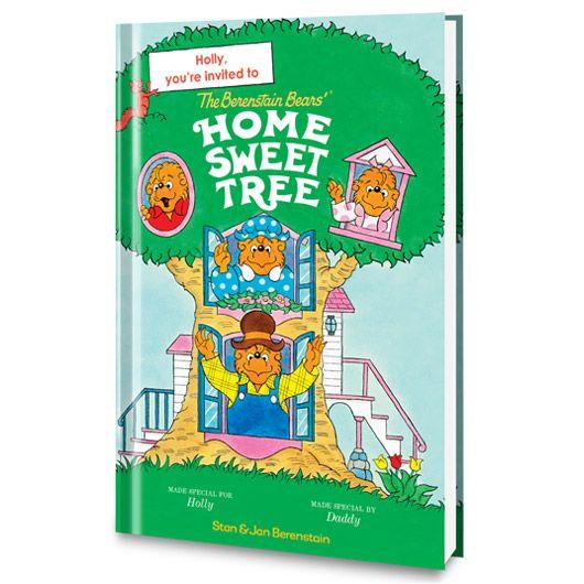 The Berenstain Bears Home Sweet Tree Personalized Book - Personalized Books - Books   Tv's Toy Box