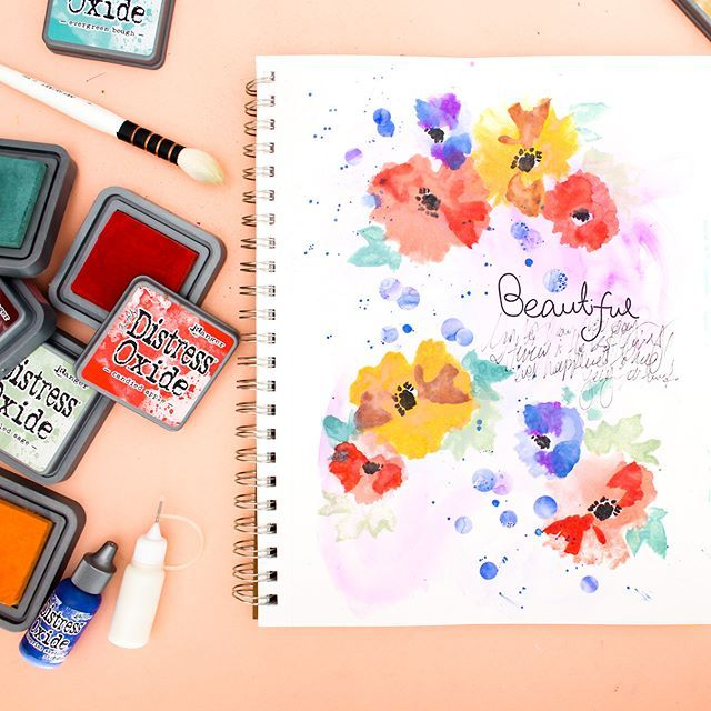 If You Love Watercolors And Flowers Then You Really Need To Grab A