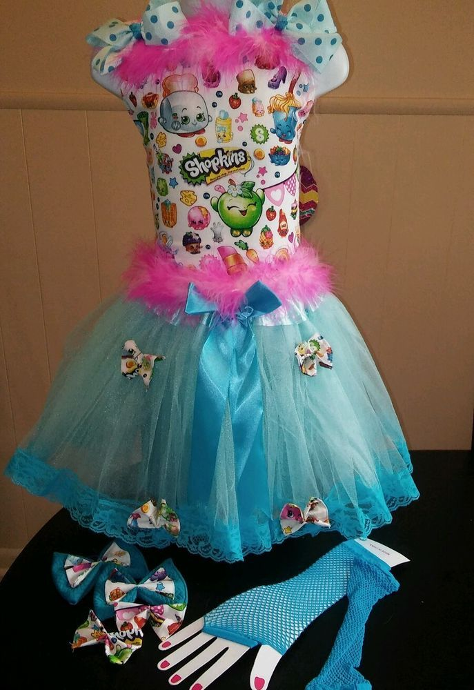 National Pageant Casual Wear OOC. Boutique Shopkins  6-8 #Handmade #DressyEverydayHoliday
