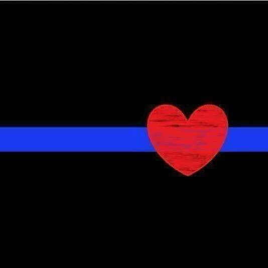 Thin Blue Line with red heart would look good on any child's T-shirt. We can start teaching our kids how to show appreciation to our Law Enforcement Officers ( LEO ) and lead an example as well.