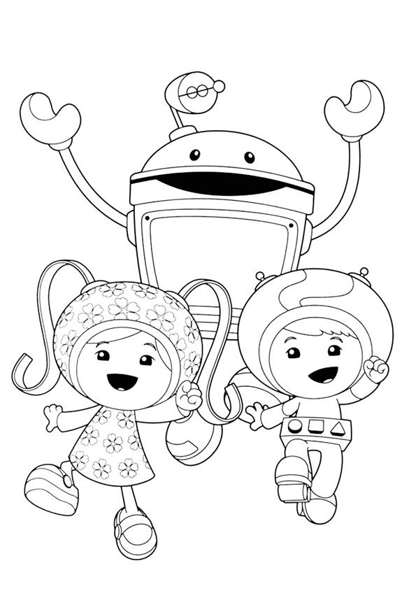 Top Team Umizoomi Coloring Pages For Your Little Ones Coloring Pages Printable Coloring Pages Team Umizoomi