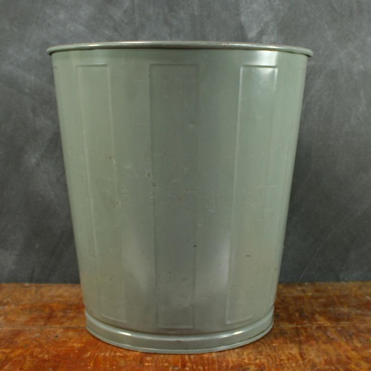 steel school wastebaskets