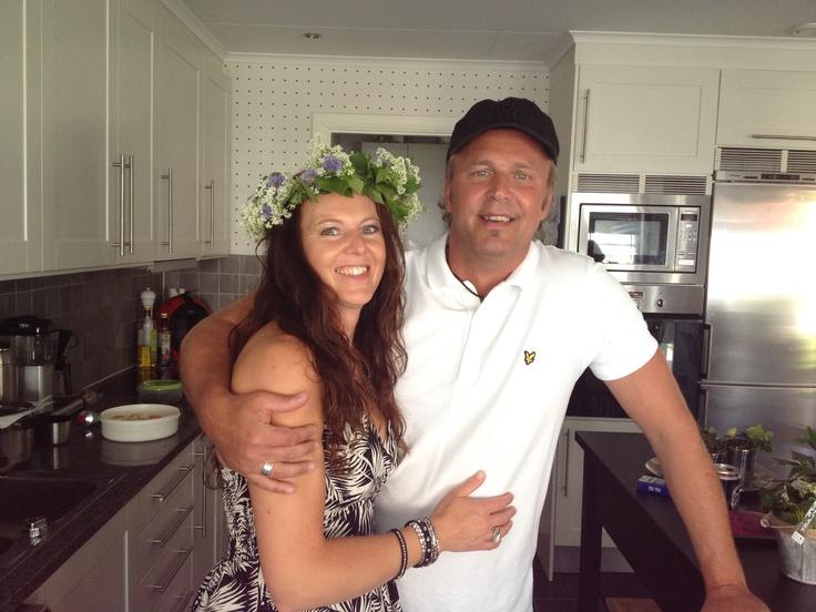 Me & My man ❤❤❤ Midsummer