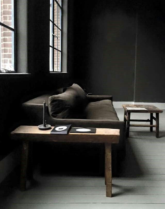 #loft #brown #interior