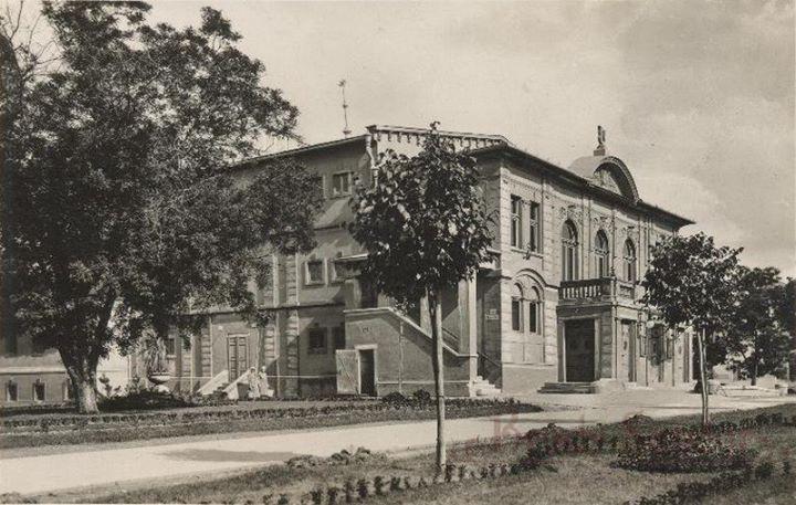 Egri színház 1945 (fotó Márton Jenő)