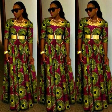 Long african dress, Love It~Latest African Fashion, African women dresses, African Prints, African clothing jackets, skirts, short dresses, African men's fashion, children's fashion, African bags, African shoes ~DK