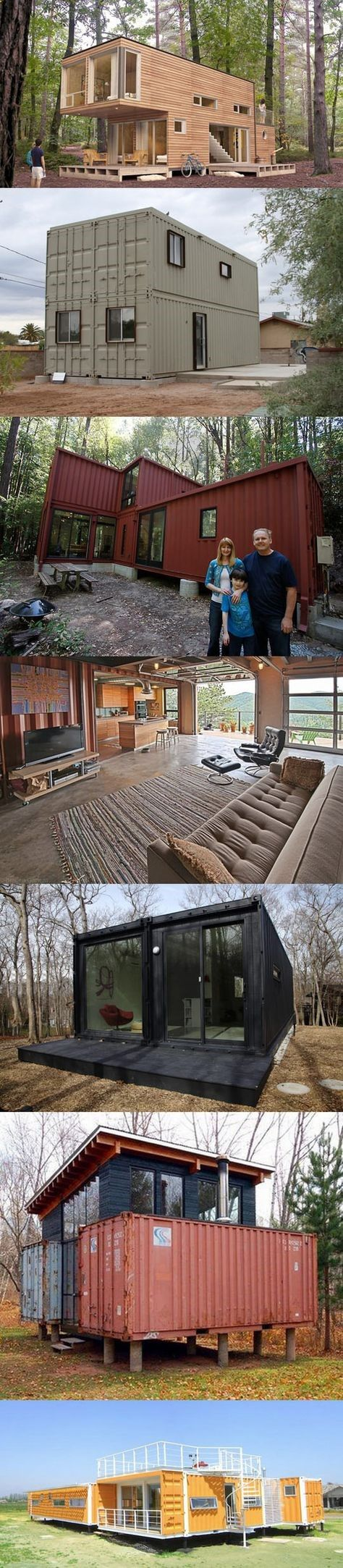 Homes made from shipping containers hhy pinterest - Casas prefabricadas subterraneas ...