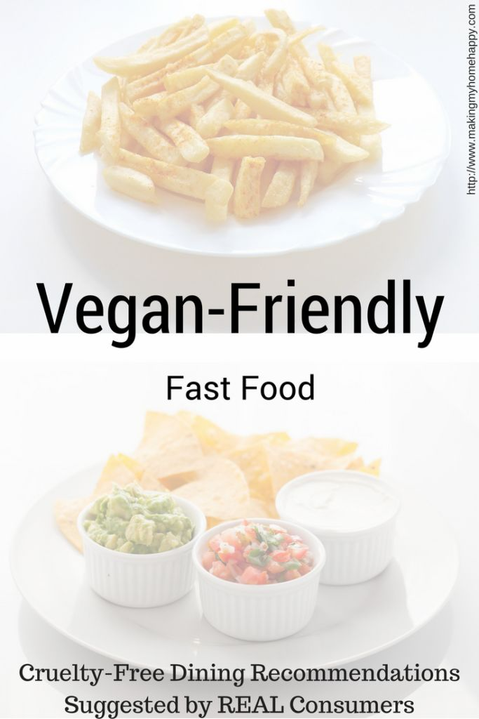 It can be hard being vegan, and not cooking for yourself. It can also be expensive eating out. So here is a list of vegan-friendly fast food establishments.