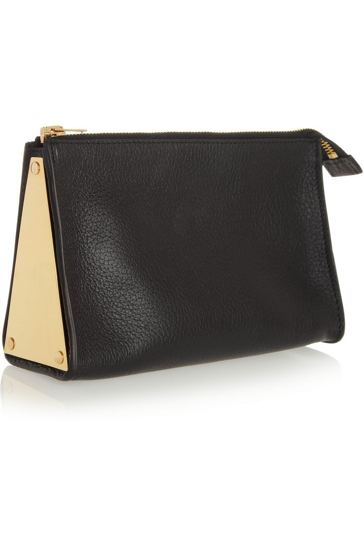 Sophie Hulme|Textured-leather cosmetics case|NET-A-PORTER.COM