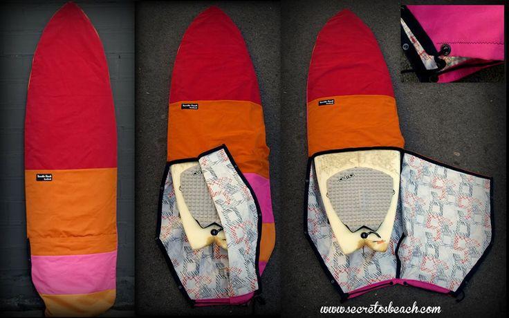 Si estas cansado de que se te rompan las cremalleras de tus fundas o te es incomodo poner una funda calcetín, ahora tienes las Open Boardbags de Secretos Beach....Puedes configurar tu mismo el diseño de tu Open Boardbag en: http://www.secretosbeach.com/shop/board-bags/custom