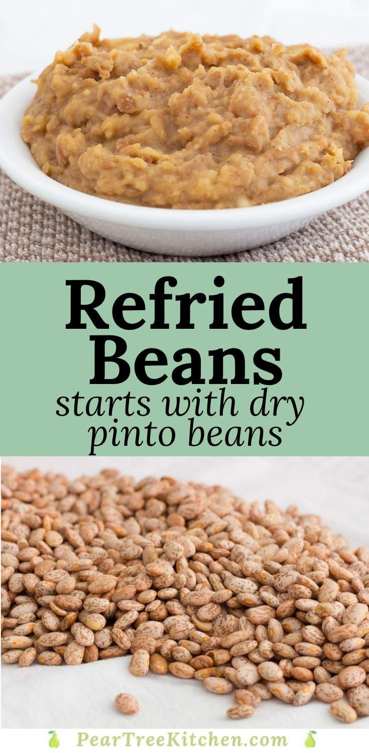 One Pot Mexican Refried Beans In 2020 Mexican Food Recipes Authentic Best Refried Beans Recipe Homemade Refried Beans