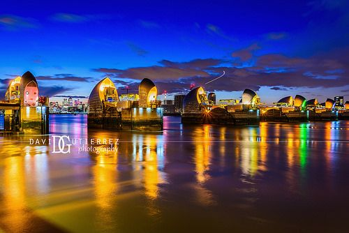 Thames Barrier, London, UK. Image by David Gutierrez Photography, London Photographer. London photographer specialising in architectural, real estate, property and interior photography. http://www.davidgutierrez.co.uk #realestate #property #commercial #architecture #London #Photography #Photographer #Art #UK #City #Urban #Beautiful #Interior #Arts #Cityscape #Travel #Building #ThamesBarrier #ThamesRiver #thames