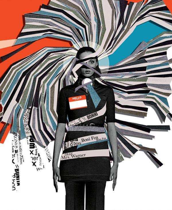 Leeay Aikawa Mixed Media Collages