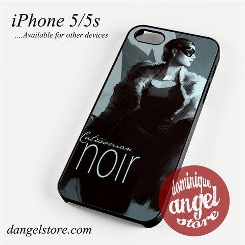 Catwoman Noir Phone case for iPhone 4/4s/5/5c/5s/6/6 plus