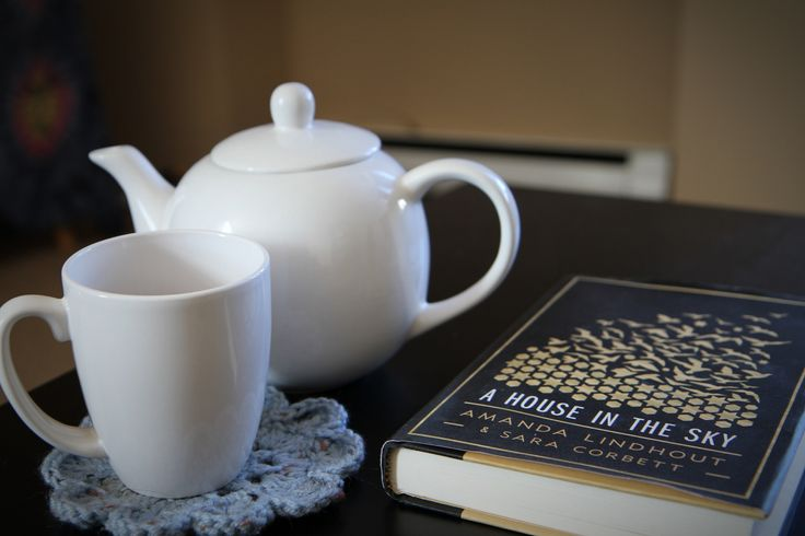 Tea drinking book reading day