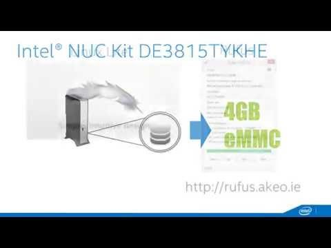 NUC How To: Configure the DE3815TYKHE with Linux - YouTube