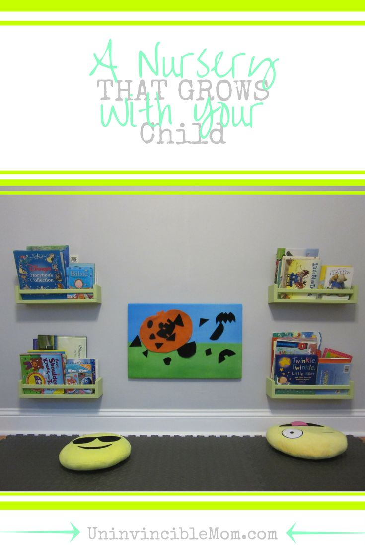 Designing (or redesigning) your child's nursery? Make sure that you use these tips to create a nursery that grows with your child into a toddlerhood and beyond!