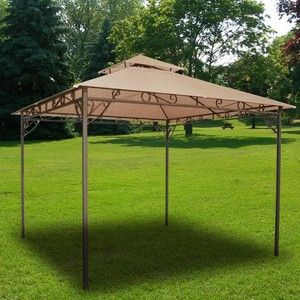 Patio Tent Canopy   Would Need Hanging Curtains On Sides At Least.