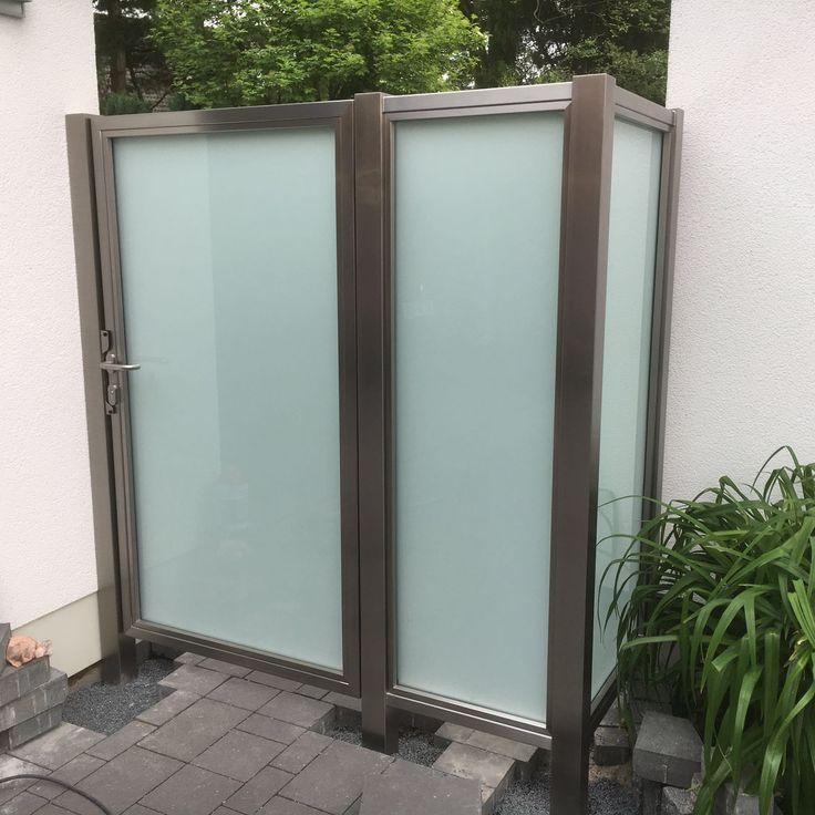 ber ideen zu sichtschutz aus glas auf pinterest sichtschutz glas horizontal zaun und. Black Bedroom Furniture Sets. Home Design Ideas