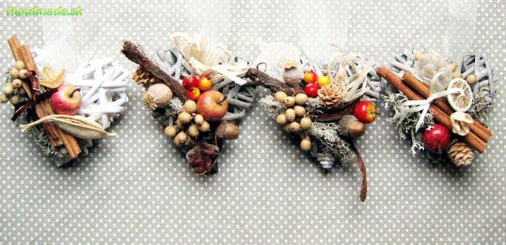 Prútené srdiečko - Dekorace   handmade.sk - ručná výroba, výrobky, ručná práca, predaj, obchod