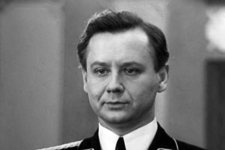 русские советские актеры мужчины: Олег Табаков. фото из фильма Семнадцать мгновений весны