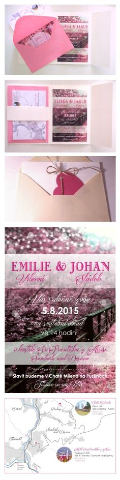 Diy forrest theme wedding invitations, rustic wedding cards