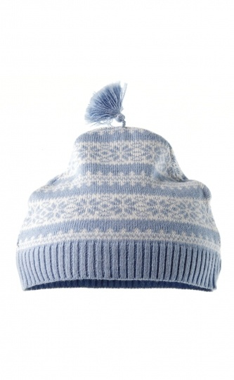 Knitted Fairisle Hat - Purebaby