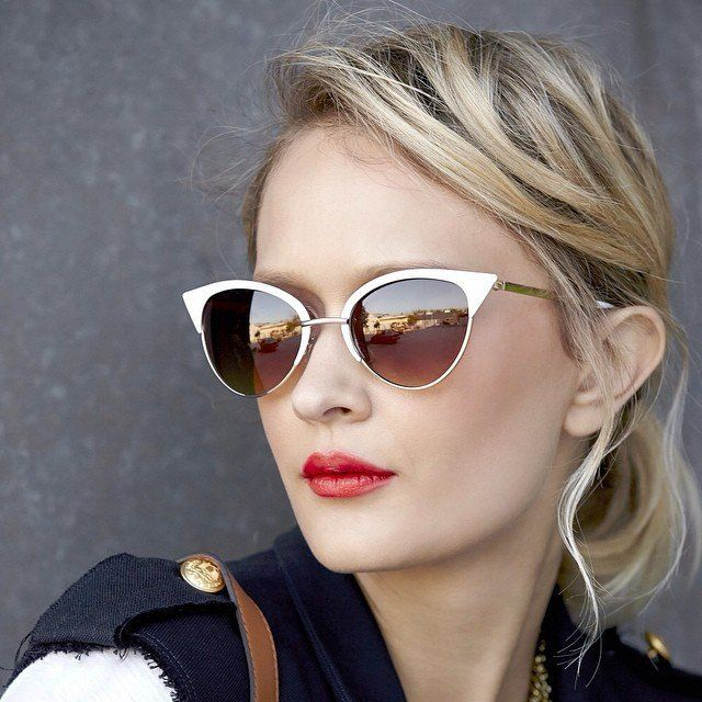 Vivian Cat Eye Sunglasses by Sole Society