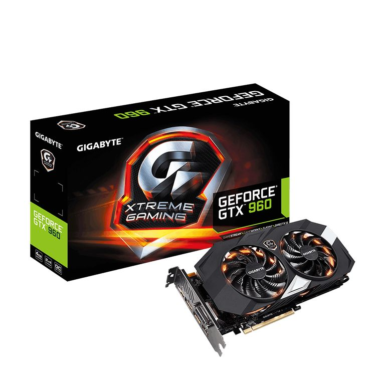 GIGABYTE NVIDIA GTX 960 EXTREME 4096MB GRAPHICS CARD