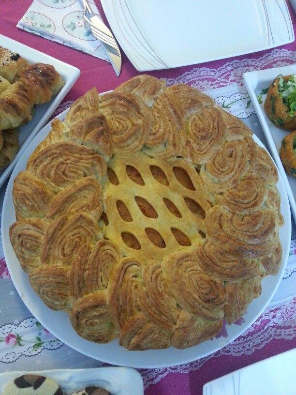 Patatesli kafes börek