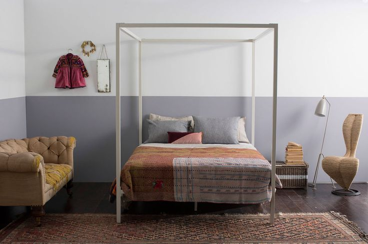 Incy interiors has collaborated with renowned interior stylist Megan Morton to create this special collection.í_킌ëíˆí_í'_ The familiar antique look of a four-poster bed has been given a modern makeover.