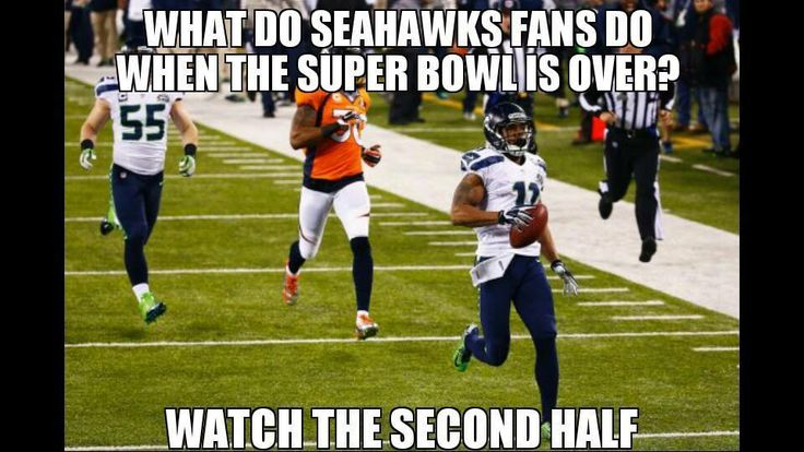 HA! .... .... . (Seattle Seahawks Memes Credit: Daniel Morse)