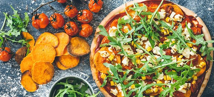 in with friends with this Roast sweet potato (kumara) and feta pizza ...