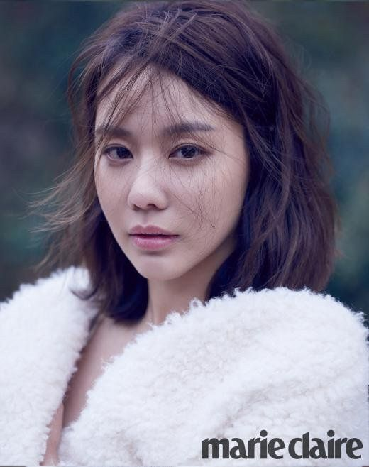 Kim Ah Joong Poses for Marie Claire Magazine | Koogle TV