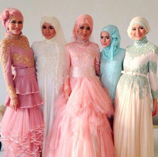 Brides moslem by ria miranda