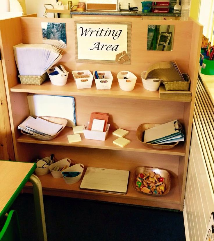 Writing Area Preschool Ideas Class