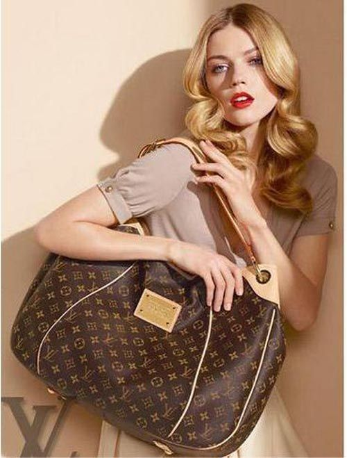 #LV Galliera Pm Monogram Canvas With Leather Good Conditions ref.code-(BVECO-1)