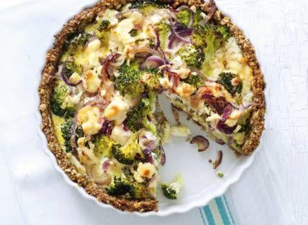 Broccoli-geitenkaasquiche http://www.ah.nl/allerhande/recept/R-R710592/broccoli-geitenkaasquiche