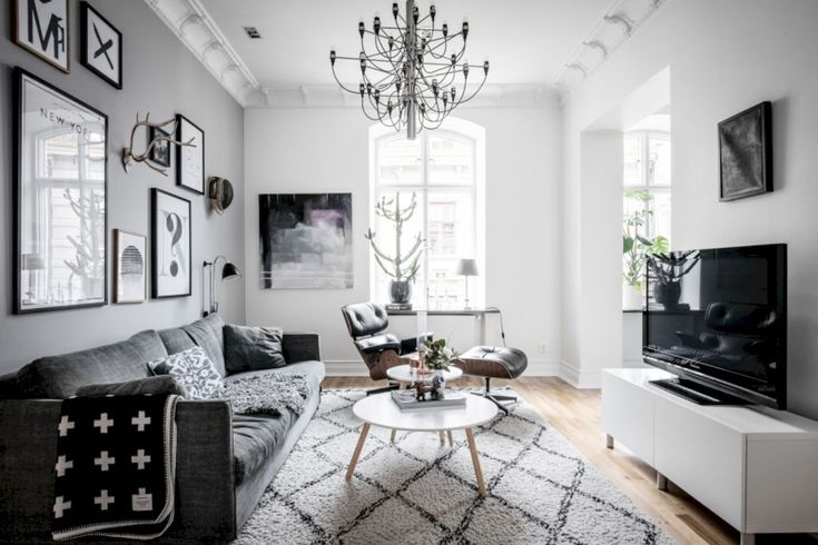 02 Awesome Scandinavian Living Room Ideas