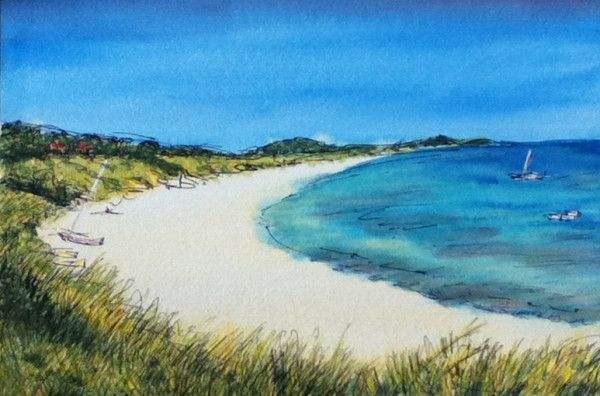 I love this Isles of Scilly, here is my painting of Pentle Bay, Tresco